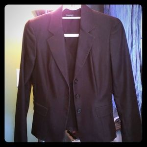 Tahari fitted suit jacket /blazer